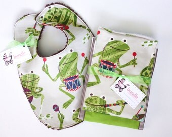 Burp the Baby Froggy Jamboree Set