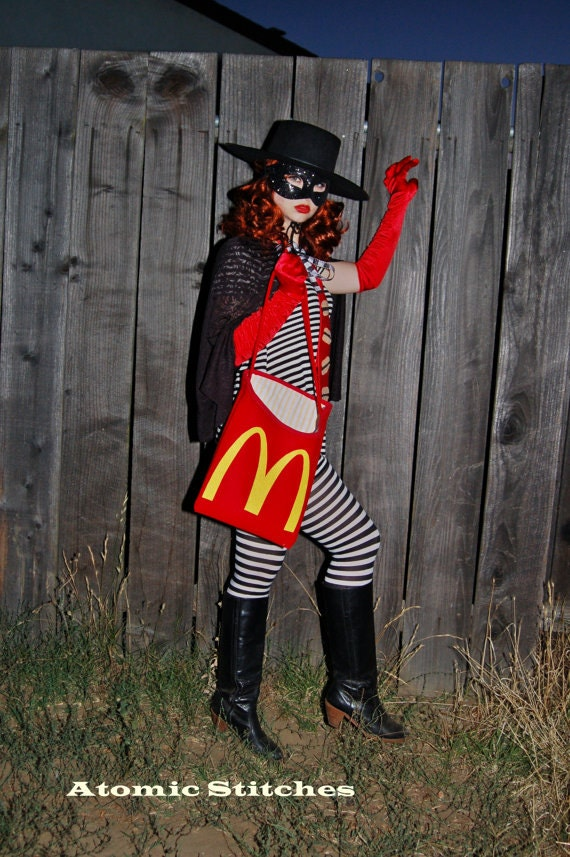 last bing queries pictures for hamburglar tie hamburglar halloween costume custom made by atomicstitches source