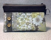 POUCH with Floral Patchwork (Style: POU-002)