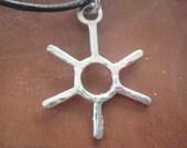 Sunshine...silver sun necklace