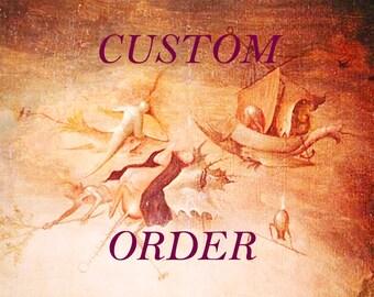 Custom Order for Miss Dene