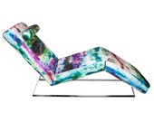 Watercolor Splash Chaise Lounge