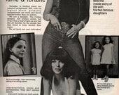 Joan Collins Vintage New Idea Magazine Australia July 1986  patterms Recipes Ephemera Advertising Fiction