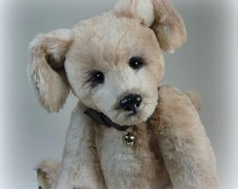 Bandy -  Handmade Faux Fur Cocker Spaniel Puppy, OOAK, Dog, Artist, by Custom Teddys