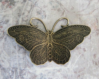 NEW Large Brass Butterfly Finding 302LB