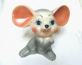 Sweet Mid Century Mouse Ceramic
