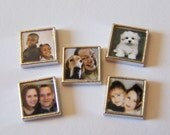 Custom Photo Floating Charm w/ your provided photo......will fit into any brand of floating charm lockets
