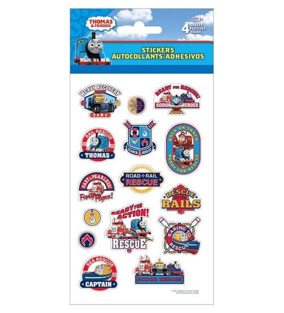 Thomas and Friends Stickers 4 Sheets Great for by iluvdesign