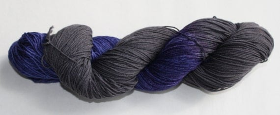 Poe Hand Dyed Sock Yarn