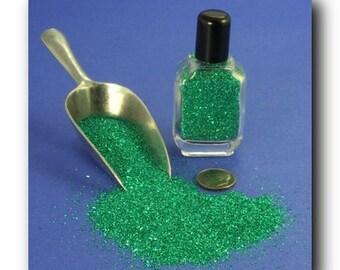Green, Emerald Green Glass Glitter - 311-9-008
