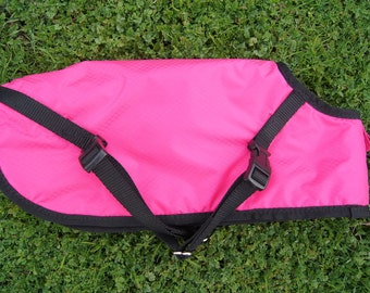 Waterproof Dog Coat Neon Pink Extra Small