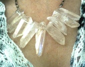 Natural Healing Crystal Chain Necklace