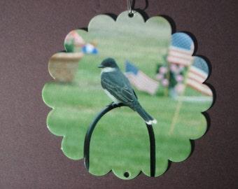 Eastern Kingbird Garden Spinner