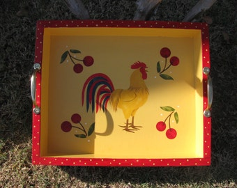 Rooster Serving Tray