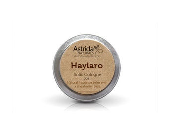 Haylaro Solid Cologne Fragrance for Men with Shea Butter