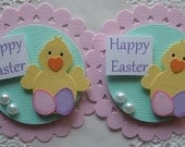 Spring/Easter Chick Embellishments
