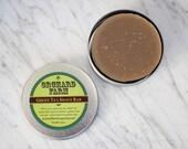 Green Tea Shaving Soap// Natural Shave// Travel Soap