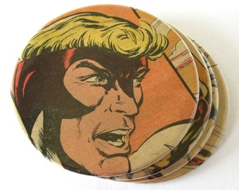 Angel Coasters // Recycled Vintage Comic Book // X-Men