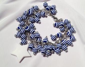 Captain America SHIELD charm bracelet