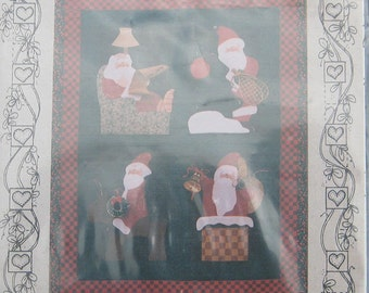 Simply Santa Wall Quilt Pattern by Art To Heart