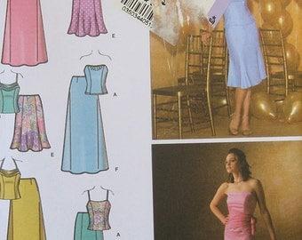 Simplicity Top Skirt Pattern 4217 Plus Size