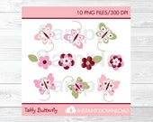Cute Butterfly Clipart / ...