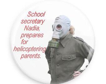 Funny Gift for School Secretary, Funny Fridge Magnet