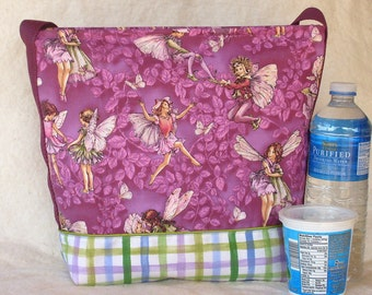 Fairy Dance Insulated Lunch Bag in Purple