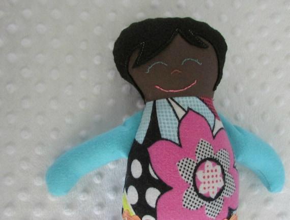 Clearance...Tessa Small Handmade Fabric Baby Doll