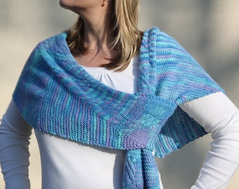 Candy    PDF Shawl knitting pattern