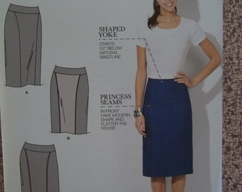 Simplicity 1541 Pencil Skirt Pattern Size 16-24