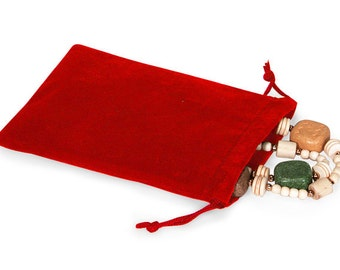 100 Pack Velvet Drawstring Bags great for Weddings, Party favors, Jewelry, Etc 4X5.5 Inch Size
