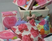Valentine Bean Bags for Classic Games, Tossing, Trading, or Classroom Treating