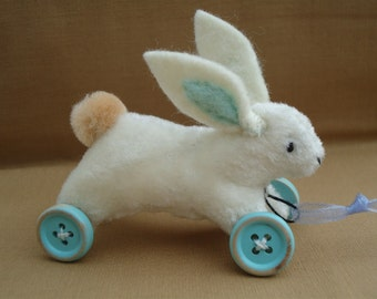 PDF E-pattern work project sheet 3 inch hare - bunny - rabbit pull toy