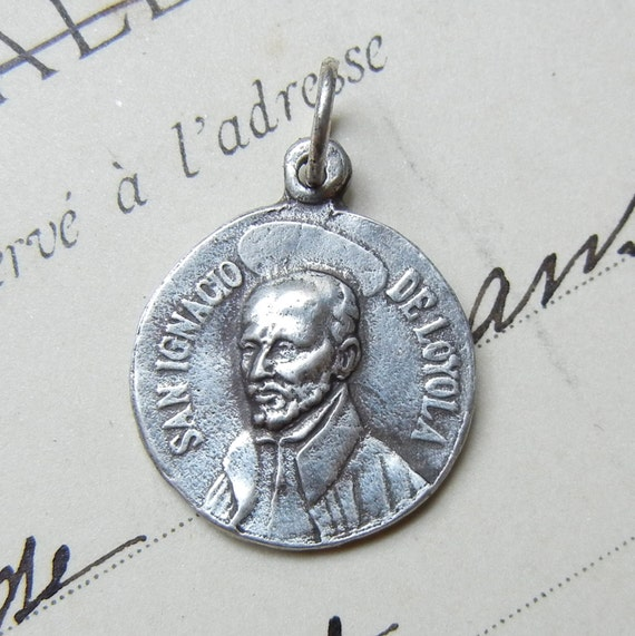 25% off! Ignatius of Loyola Medal - Patron of soldiers