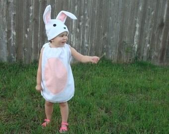 Kids Bunny Costume Children Toddler Easter Costume Photo Prop Spring Rabbit Pink Blue