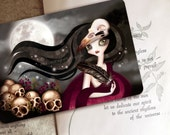 The Witching Hour - Limited Edition Postcard - Postcrossing