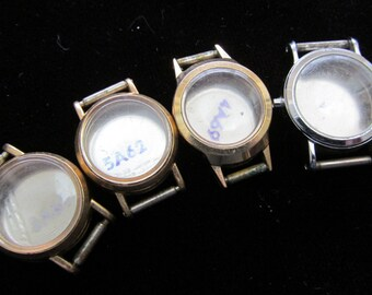 Steampunk Watch Cases Vintage Antique  Altered Art Industrial PS 40