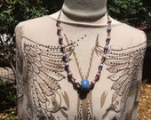 African Dogon Trade Bead Necklace New Collection no1 by Kate Drew-Wilkinson