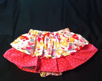 Two Tier Bloomer Skirt
