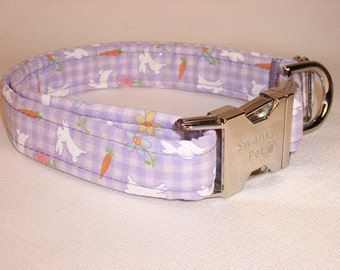 Cute Easter Bunny Print Collar by Swanky Pet