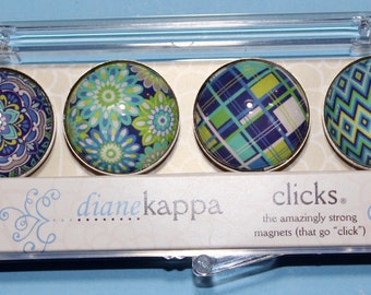 4 Pack of Amazingly Strong Magnets with Salt Air design