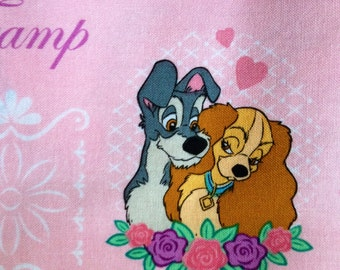 Disney Classics Lady and The Tramp Fabric By The Yard
