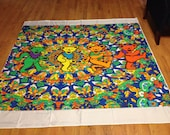 Custom Made to Order Grateful Dead Shower Curtain and bath towels