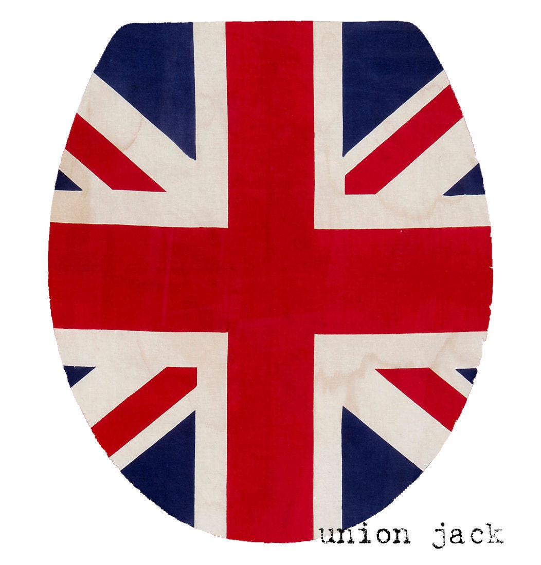 Union Jack Seat By Toiluxe On Etsy