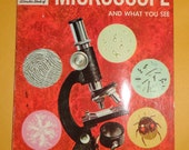 Vintage 1961 The Microscope How and Why Wonder Book