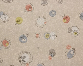 1950s Vintage Wallpaper Retro Mid Century Design by the Yard--Made in West Germany