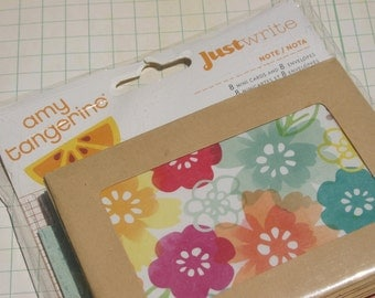 Amy Tangerine Mini Cards - Just Write Mini Cards and Envelopes