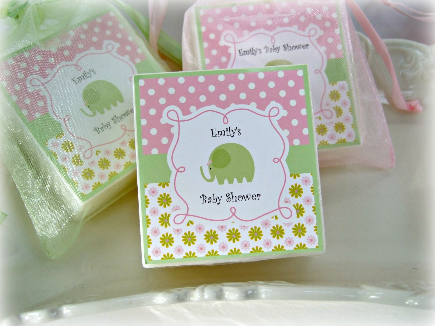 baby shower favors elephant favors baby elephant baby girl