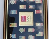 Vintage Collectors Series Limited Edition Olympic Winter Games 16th Anniversary Pin Collection by Coca Cola